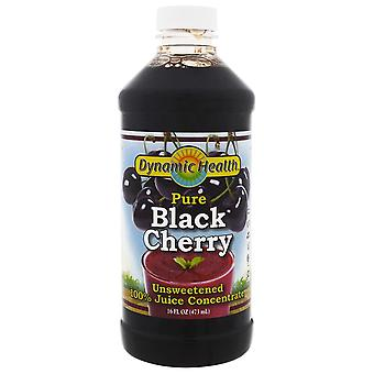 Dynamic Health  Laboratories, Pure Black Cherry, 100% Juice Concentrate, Unsweet