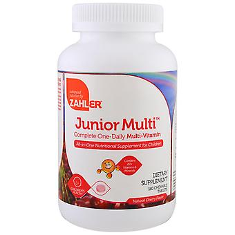 Zahler, Junior Multi, Complete One-Daily Multi-Vitamine, Natural Cherry Flavor, 1