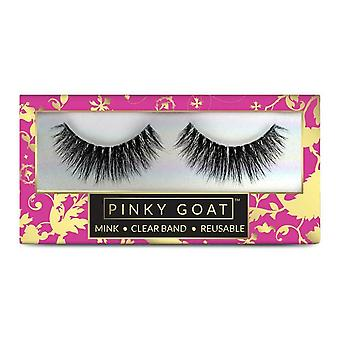 Pinky Goat Reusable 3D Faux Mink Eyelashes - Olfat Lash for Ultra Glam Occasions