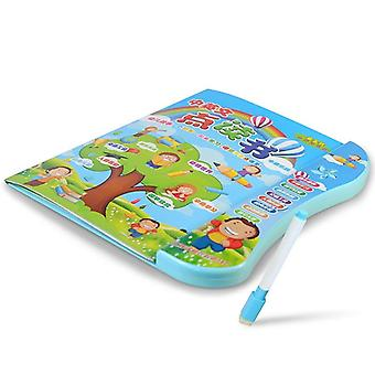Multi-functional English Chinese Language Reading Book Learning Machine Electronic Baby Kids Talent Early Educational Sound Toys