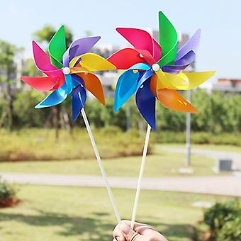 Garden Yard Party Camping Windmill Wind Spinner Ornament Decoration Kids