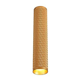 Oświetlenie Luminosa - 30cm Surface Mounted Ceiling Light, 1 x GU10, Champagne Gold