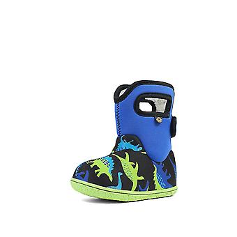 Baby bogs dino electric blue multi thermal waterproof boots