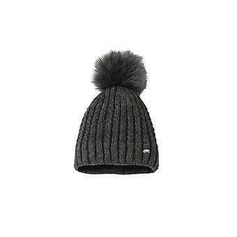 Pikeur Womens Bobble Hat - Anthracite