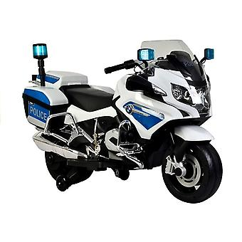 BMW Police Motorcycle White - Electric Ride On Motorbike