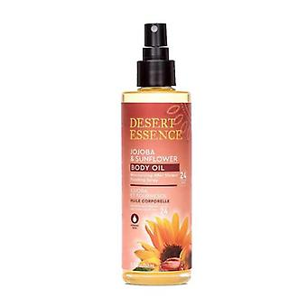 Desert Essence Jojoba & Sunflower Body Oil Spray, 8.28 Oz