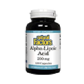 Natural Factors AlphaLipoic Acid, 200mg, 120 Caps