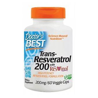 Lääkärit Paras Trans-Resveratrol 200 resvinol-25, 60 kasvismyssyt