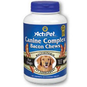 ActiPet Canine Complex For Dogs, Liver, 90 ct chews
