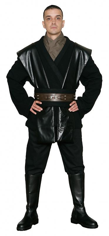 Star Wars Anakin Skywalker Sith / Jedi Costume in Black - Body Tunic Only - Replica Star Wars Costume