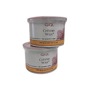 GiGi Cream Wax Sensitive Skin 14 OZ Pack of 2