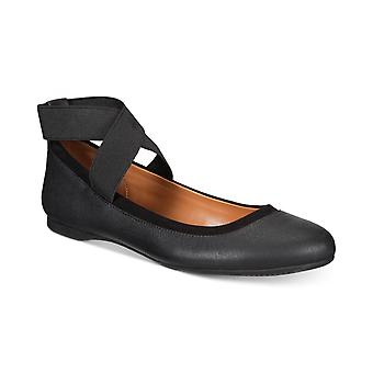 Style & Co. Womens Beaa Closed Toe Ankle Wrap Ballet Flats
