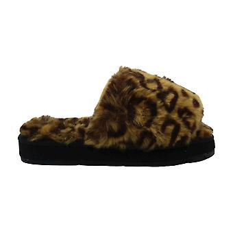 Michael Michael Kors Women-apos;s Shoes Grace fay-888 Faux Fur Open Toe Casual Sli...