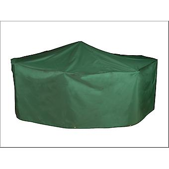 Bosmere Patio Set Cover Rectangular 4/ 6 Seat Green MG525