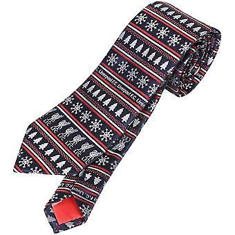 Liverpool-Weihnachten-Krawatte