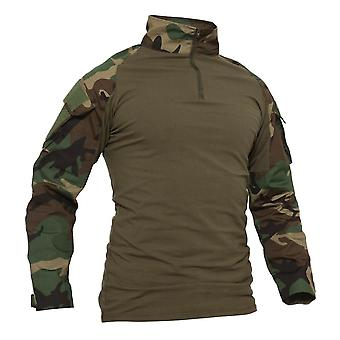 Long Sleeve Military Tactical Combat Shirts, Men's Hunting Army, Safari Tops