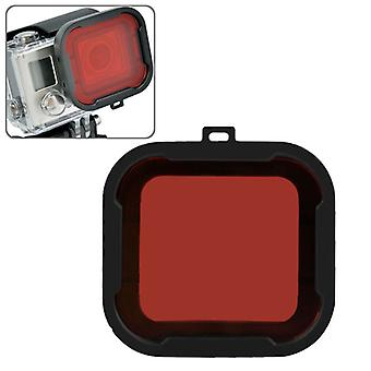 Polar Pro Aqua Cube Snap-on Dive Housing Filter for GoPro HERO4 /3+(Red)