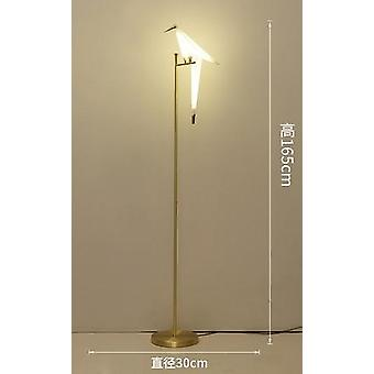 Nordic Bird Floor Lamp, Creative Acrylic Thousand Paper Cranes Light
