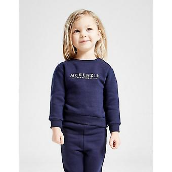 New McKenzie Girls' Micro Essential Crew Tracksuit from JD Outlet Blue