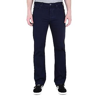 Emporio Armani J21 Blue Tonal Stitch Regular Fit Jeans