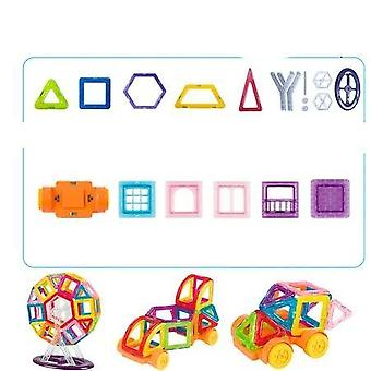 Mini Magnetic Building Blocks- Construct Designer Model