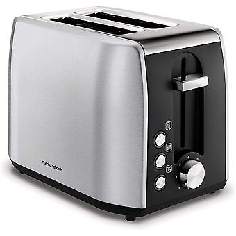 Morphy Richards 222057 Stainless Steel Toaster, Brushed 2 Slice