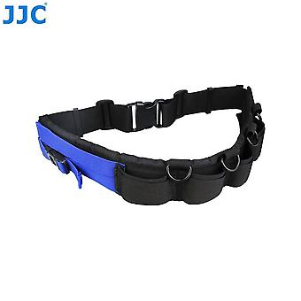 Jjc multi-function lightweight durable deluxe technical photography belt fits jjc dlp lens pouch for
