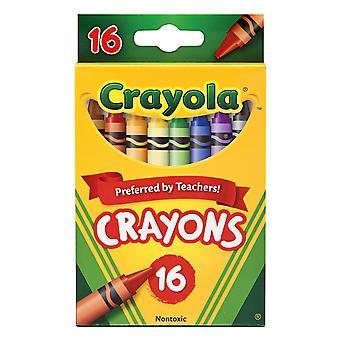 Crayola Regular-Size Crayons, 16 Colors