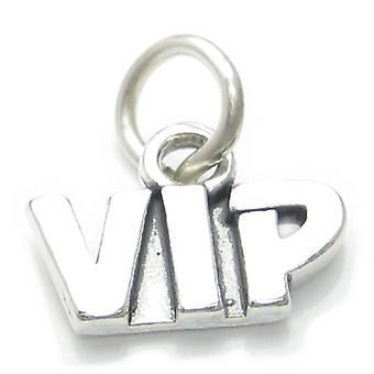 Vip Sterling Silver Charm .925x1 Very Important Person Charms Vips Charms - 4029