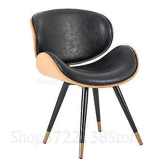 Nordic Modern Minimalist Home Leisure Dining Chair