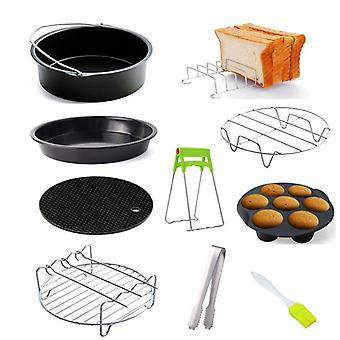 Air Fryer Accessoires, Pizza Tray Grill Toast Rack Stoom Isolatie Pad