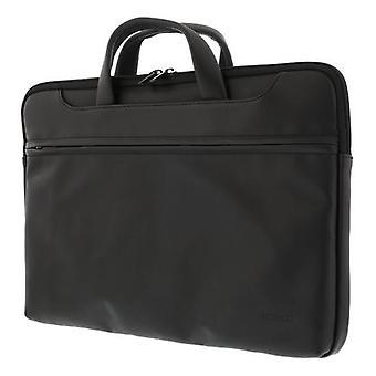 Borsa notebook DELTACO, fino a 15,6&, pelle artificiale, nero