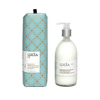 Lucia - Hand & Hand Body Lotion 300ml-waterkers & Chai Thee / Lucia - Lotion Corps & Hoofd 300ml-cresson De Mer & Chai Thee