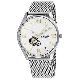 Skagen Men's Classic Silver Dial Watch - SKW6711