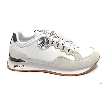 Shoes North Sails Sneaker Running Rw/04 First In Suede/ White Fabric Us21ns02