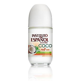 Instituto Español Coco Deodorant Roll-on Antitranspirante 75 Ml Unisex