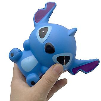 Simulatie Slow Rising Sweet Stress Relief Soft Squeeze Toy, BLAUW