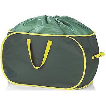 HanFei verschliebare Gartenabfalltasche, je 333 Liter, 2er Set, 45 kg Tragfhigkeit, Wasserabweisend,