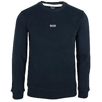 Hugo boss men's navy weevo 2 sweatshirt