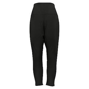 Women With Control Shapewear Regular No Side Seam Leggings Black A393337