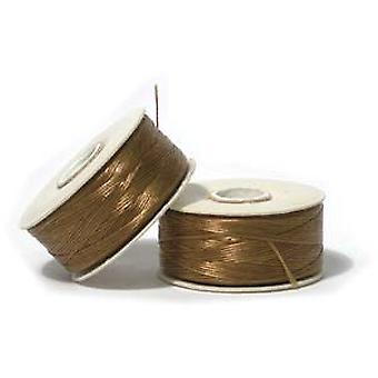 NYMO Nylon Beading Thread Size D for Delica Beads Golden Yellow 64YD (58 Meters)