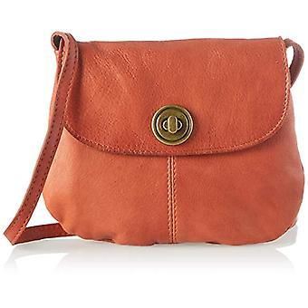 PIECES PCTOTALLY Royal Leather Party Bag Noos, Women's Folder Bag, Rust, One Size