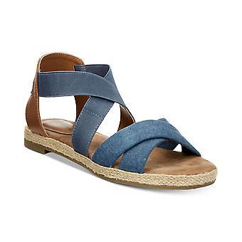 Giani Bernini Womens Colbey2 Fabric Open Toe Casual Espadrille Sandals