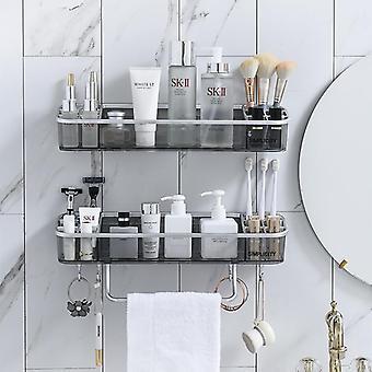Drainable Bathroom Shelf