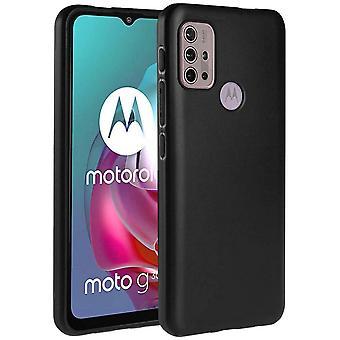 Motorola Moto G30 / Moto G10 - Silicon TPU Soft Shell - Musta