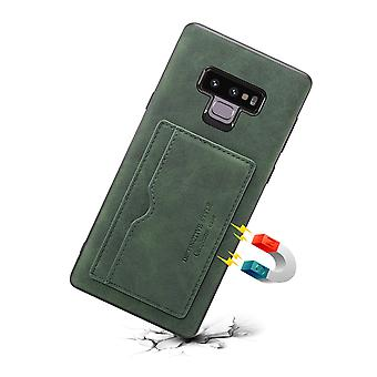 Wallet leather case card slot for iphone7plus/8plus dark green pc3981