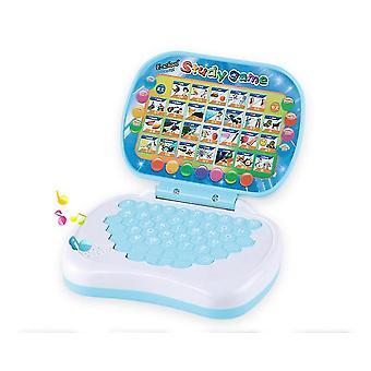 Tablet blu per bambini tablet inglese apprendimento tablet per bambini giocattolo didattico con ottima scelta x4165