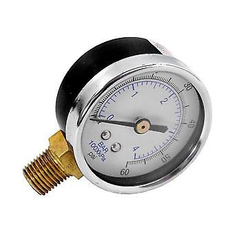 Waterco Baker Hydro 30B3000 0-50 PSI Pressure Gauge