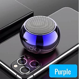 DZK Subwoofer Mini Bluetooth Portable Speakers True Wireless Powerful Bass Stereo High