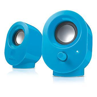 SPEEDLINK Snappy USB Stereo Högtalare, Blå